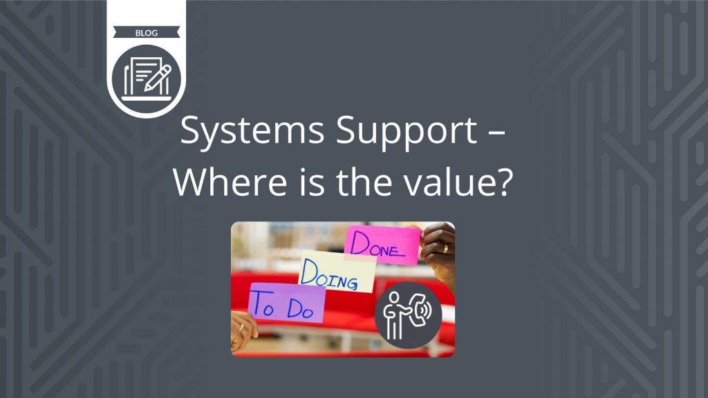 System Support - Ian's blog
