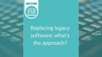 Replacing legacy software; what's the approach?