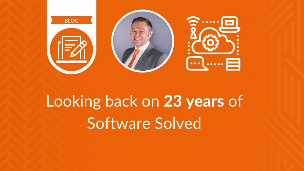 Looking back on 23 years of Software Solved - blog cover