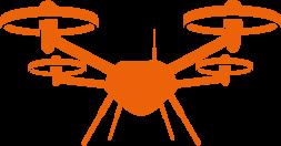 SurveyorTech Drone - orange