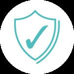 SurveyorTech insurance icon - white