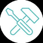 Property Maintenance icon white
