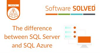 Youtube Thumnail - The difference between SQL Server and SQL Azure