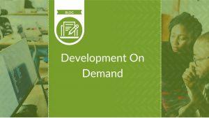 Development on Demand - blog cover