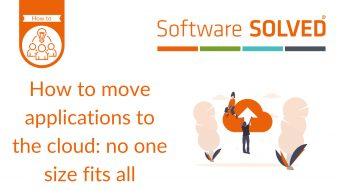 How to move applications to the cloud_ no one size fits all