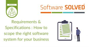 Requirements & Specifications Webinar