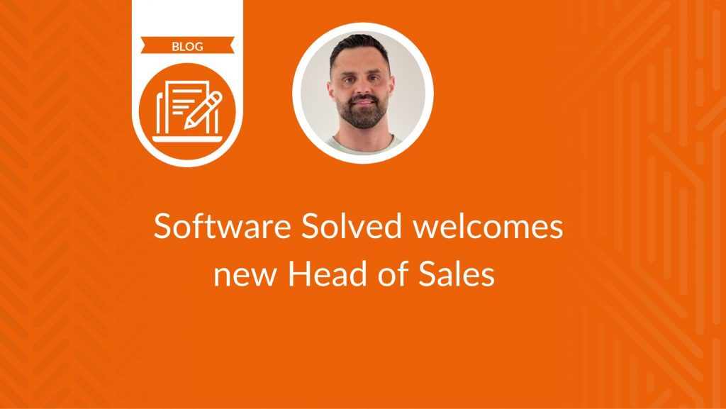Software Solved welcomes new Head of Sales