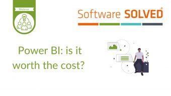 Power BI is it worth the cost?