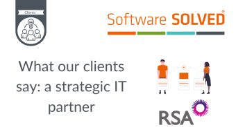 What our clients say_ a strategic IT partner