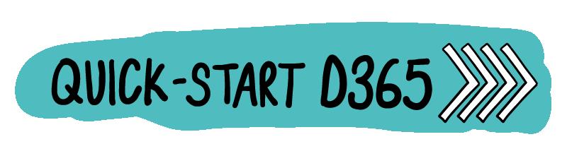 Quick-Start D365 blue background logo