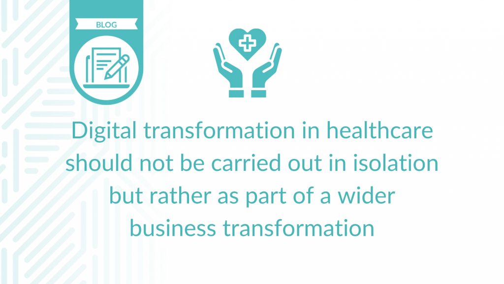 Digital Transformation blog cover