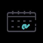 Flexible working icon