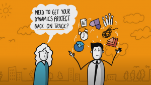 We are already implementing Microsoft Dynamics 365, but it's gone off track