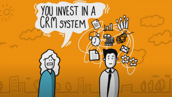 We don't have a CRM system...and feel its time we invested