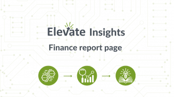 Finance report page