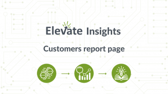 Customers report page
