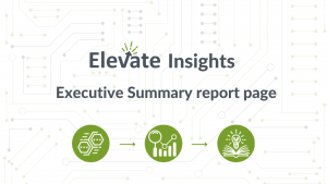 Executive Summary report page
