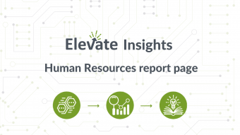 Human Resources report page