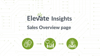 Sales Overview page
